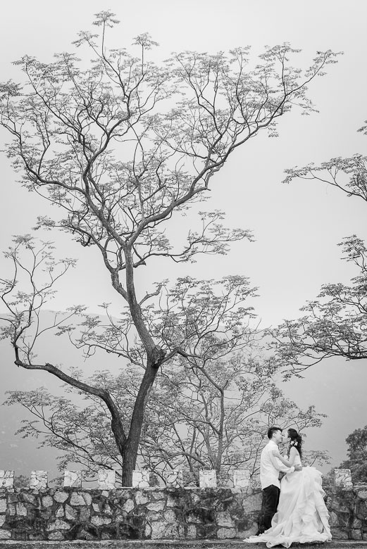 Bride and Groom Portrait: 10-th Place by Jackie Au (Jackie Au Photography)