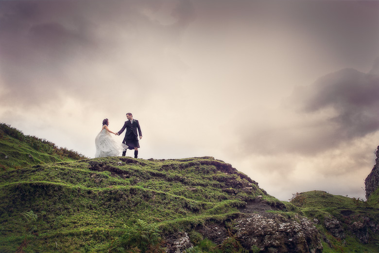 Bride and Groom Portrait: 2-nd Place by Carey Nash (Carey Nash Photography)