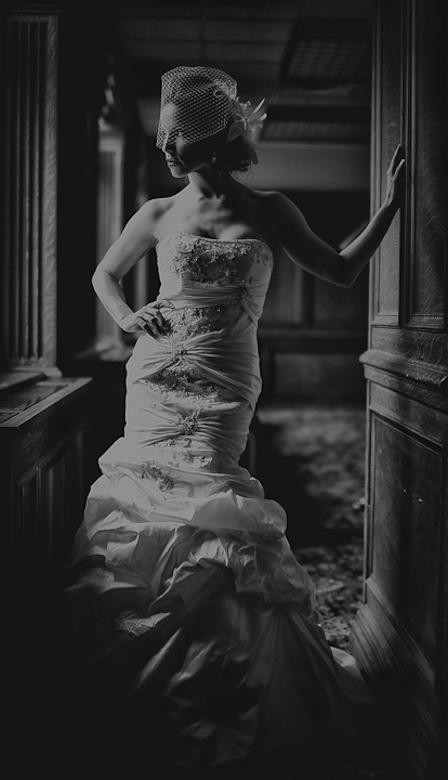 Bridal Portrait: 3-rd Place by Carey Nash (Carey Nash Photography)