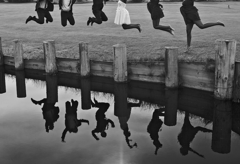 Reflections: 5-th Place by Jessica Thiessen & Sunny Parmar  (Deep Blue Photography)