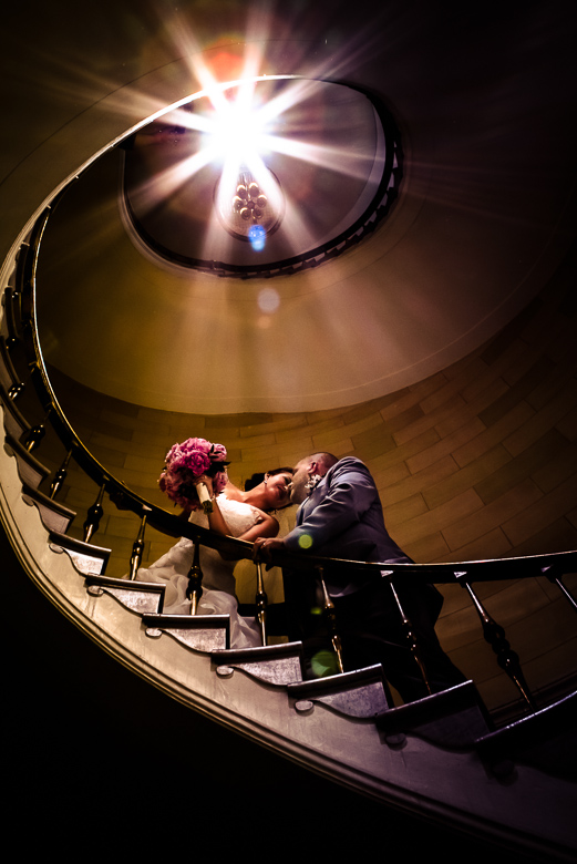 Bride and Groom Portrait: 11-th Place by Esther Kelly (BEK STUDIOS Inc.)