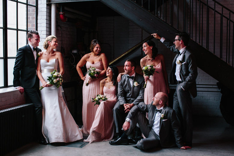 Bridal Party Portrait: 2-nd Place by Tim Chin (TIMCHIN photography+design)
