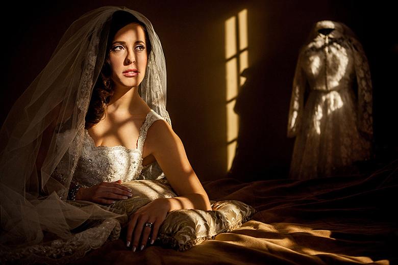 Bridal Portrait: 7-th Place by Elisha Stewart  (Abby Photography)