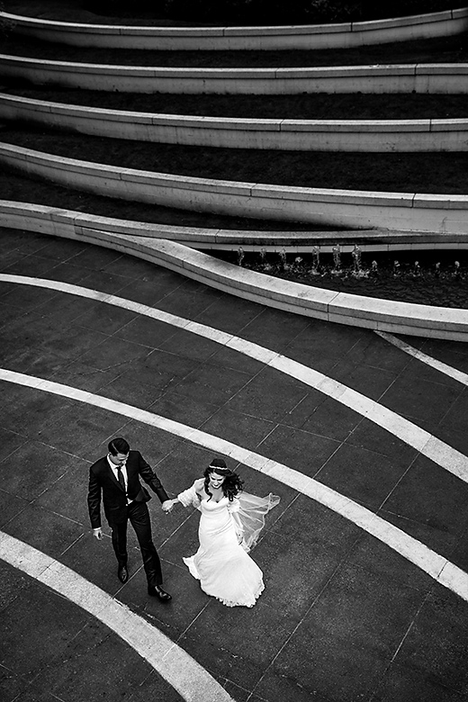 Bride and Groom Portrait: 1-st Place by Elisha Stewart (Abby Photography)