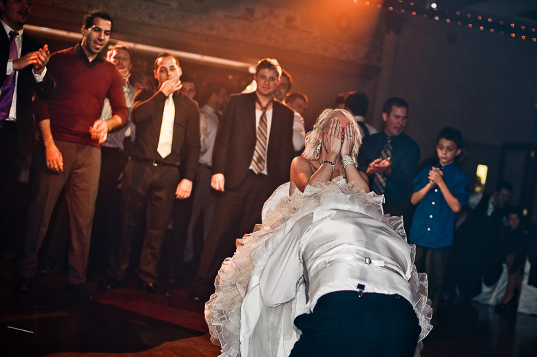 Bouquet / Garter Toss: 2-nd Place by Frances Morency (Frances Morency Photography)