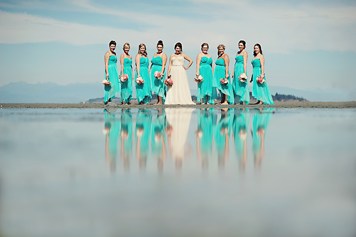 Bridal Party Portrait: 13-th Place by Erin Wallis (ERIN WALLIS PHOTOGRAPHY)