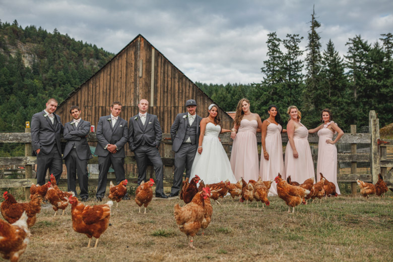 Bridal Party Portrait: 15-th Place by Caity McCulloch (Swept Away Photo)
