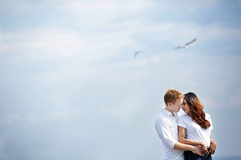 Engagement Portrait: 3-rd Place by Barbara Cameron (Barbara Ann Studios)