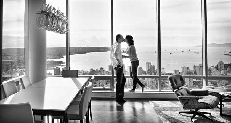 Engagement Portrait: 13-th Place by Camille Fortin Bensler (JONETSU STUDIOS)