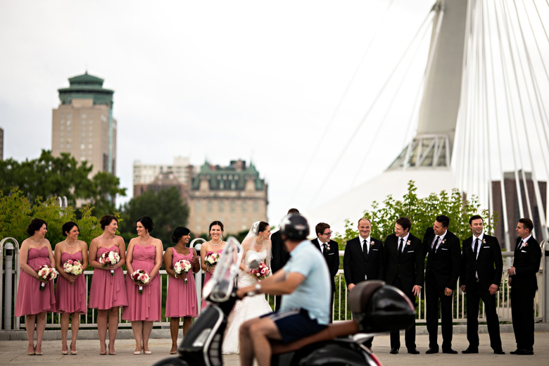 Bridal Party Portrait: 10-th Place by Curtis Moore (Moore Photography)