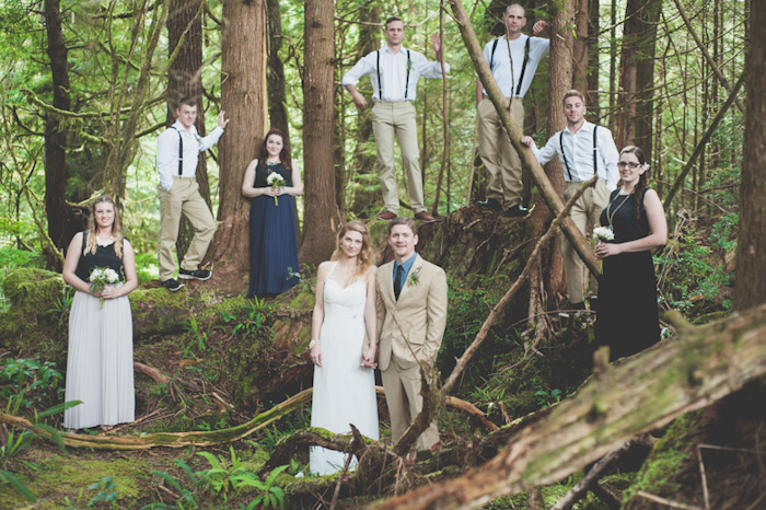 Bridal Party Portrait: 14-th Place by Karley Bracey (Bracey Photography)