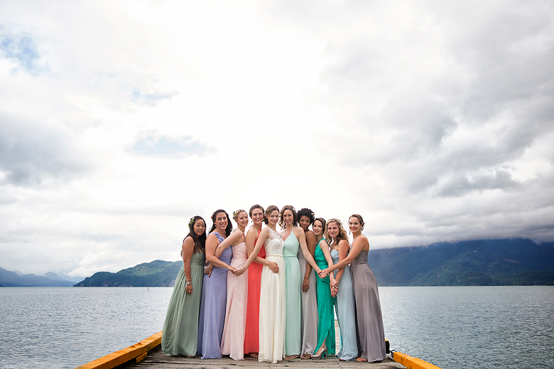 Bridal Party Portrait: 10-th Place by Fran Chelico (Fran Chelico Photography)