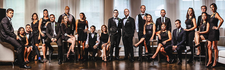 Bridal Party Portrait: 1-st Place by Tim Chin (TIMCHIN photography+design)