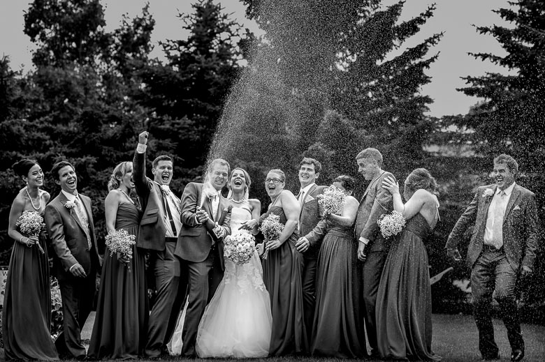Bridal Party Portrait: 11-th Place by Sean LeBlanc (Sean LeBlanc Photography)