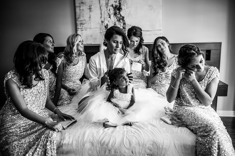 Bridal Party Portrait: 6-th Place by Ann Wen (Green Tea Photography (Ann Wen))