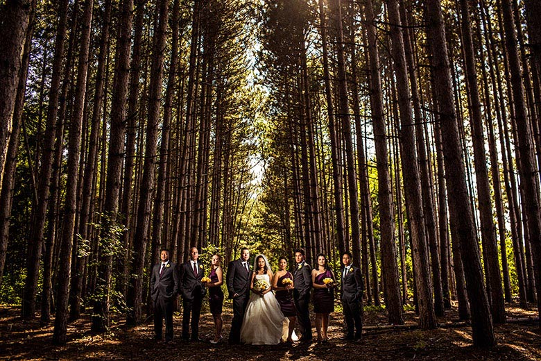 Bridal Party Portrait: 2-nd Place by Derrick Rice (Union Eleven (Derrick Rice))