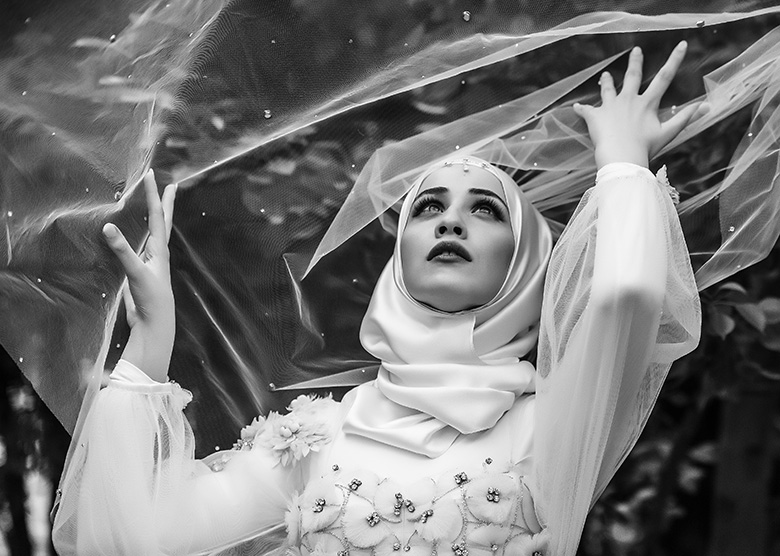 Bridal Portrait: 4-th Place by Rabih Madi (Madi Photography)