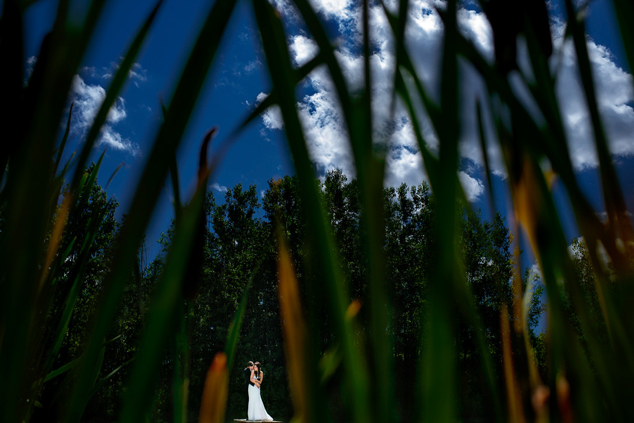Bride and Groom Portrait: 11-th Place by Sean LeBlanc (Sean LeBlanc Photography)