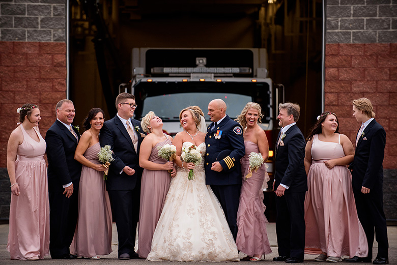 Bridal Party Portrait: 11-th Place by Chrystal Stringer (Chrystal Stringer Photography)