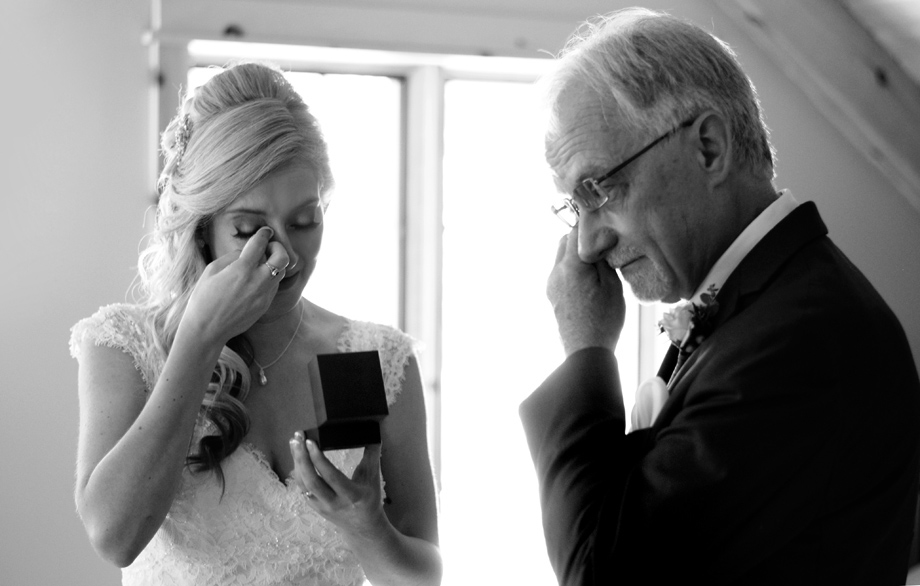 Parents at Wedding: 7-th Place by Mel Shields (Melanie Shields Photography)