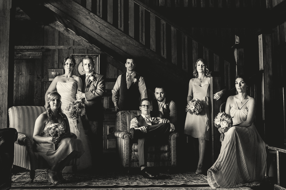Bridal Party Portrait: 15-th Place by Darshan Stevens (Darshan Alexander Photography)