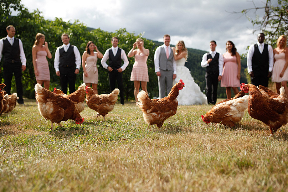 Bridal Party Portrait: 10-th Place by Caity McCulloch (Swept Away Photo)