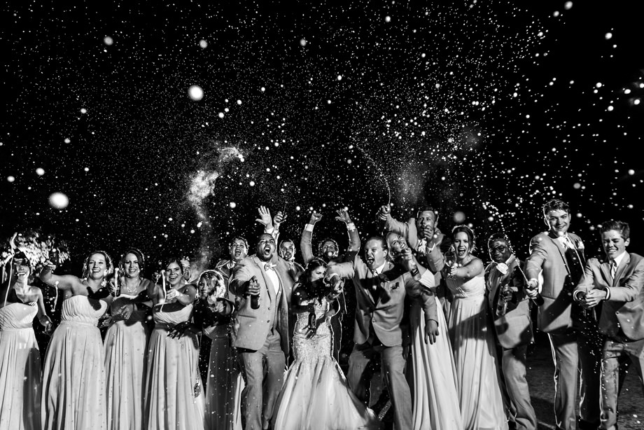 Bridal Party Portrait: 4-th Place by Curtis Moore (Moore Photography)