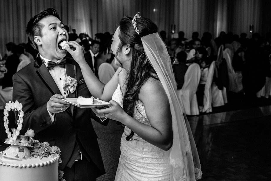 Cutting the Cake: 7-th Place by Tim Chin (TIMCHIN photography+design)