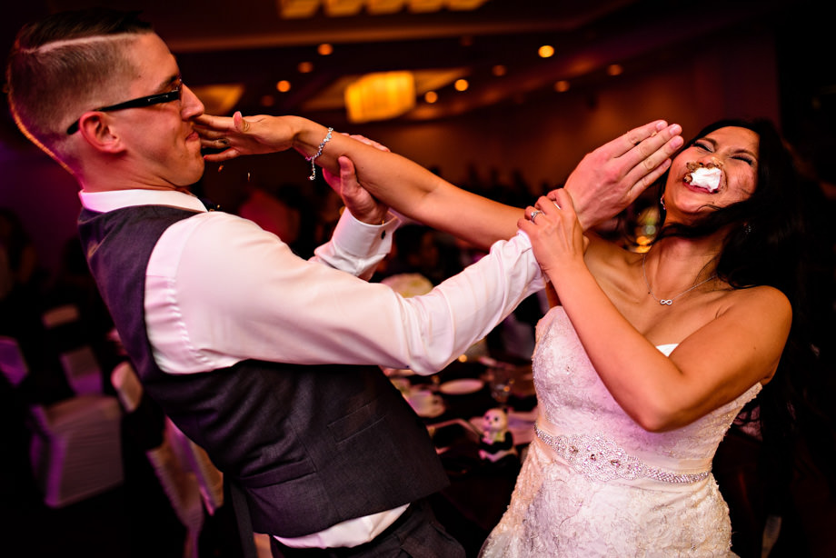 Cutting the Cake: 5-th Place by Curtis Moore (Moore Photography)