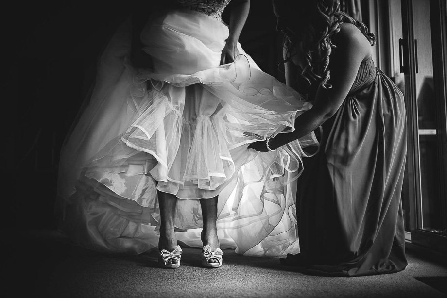 The Wedding Dress: 1-st Place by Joel Legault (Joel & Jess Photography)
