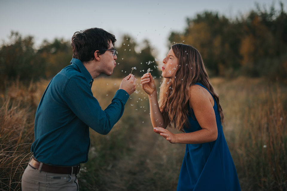 Engagement Portrait: 4-th Place by Kristilee Nixon (Kristilee Parish Photography)