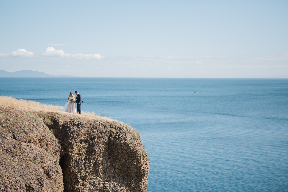 Bride and Groom Portrait: 14-th Place by Caity McCulloch (Swept Away Photo)