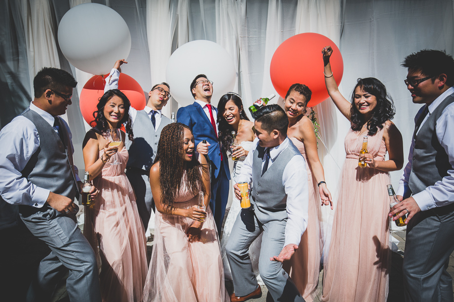 Bridal Party Portrait: 13-th Place by Andes Lo (Andes Lo Photographer)