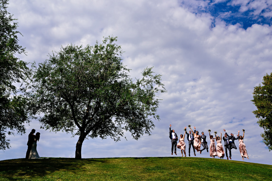 Bridal Party Portrait: 1-st Place by Curtis Moore (Moore Photography)
