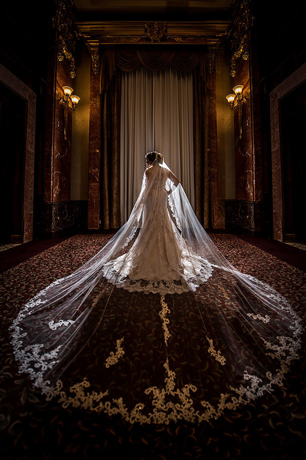 The Wedding Dress: 11-th Place by John Park (John and Veronica Photography Inc.)