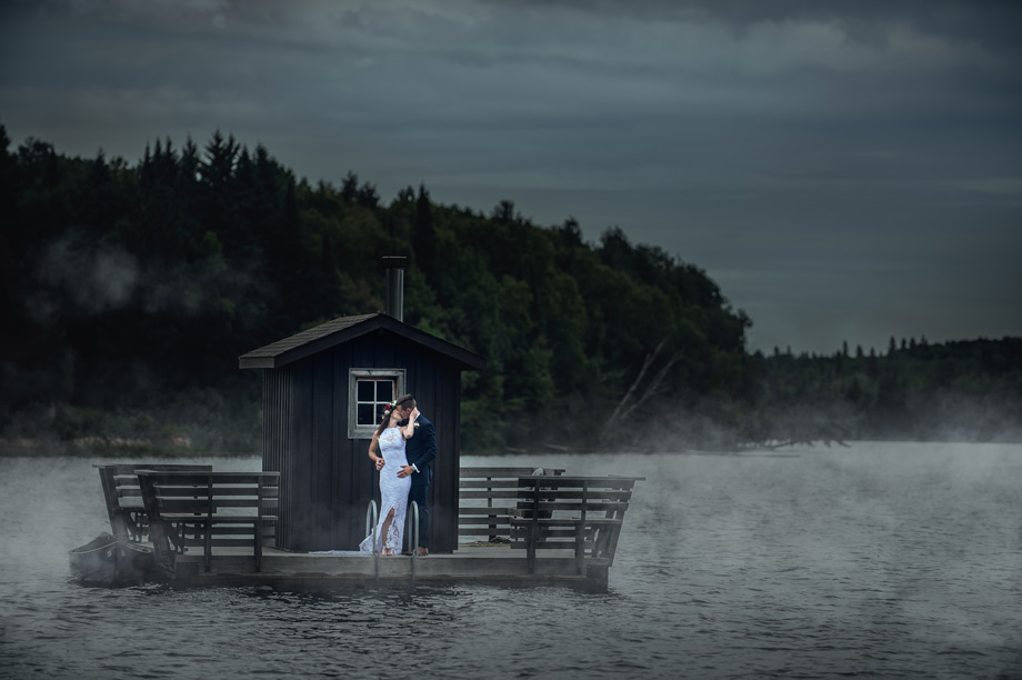 Bride and Groom Portrait: 7-th Place by John Lin (AGI Studio)