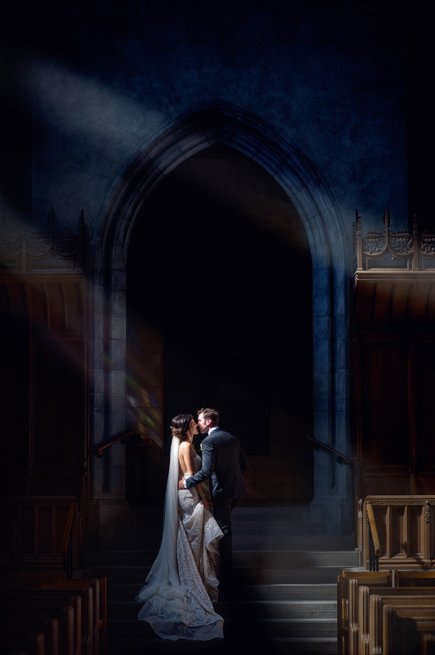 Bride and Groom Portrait: 5-th Place by John Lin (AGI Studio)