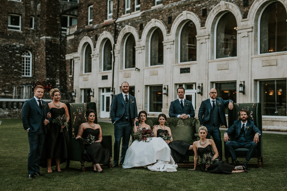 Bridal Party Portrait: 5-th Place by Carey Nash (Carey Nash Photography)