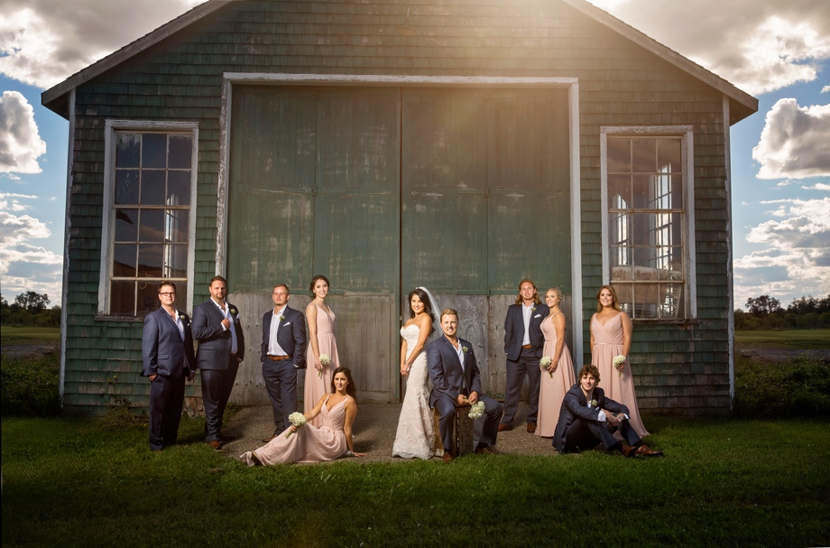 Bridal Party Portrait: 15-th Place by Genelle Giblett (Genelle Amber Studios)