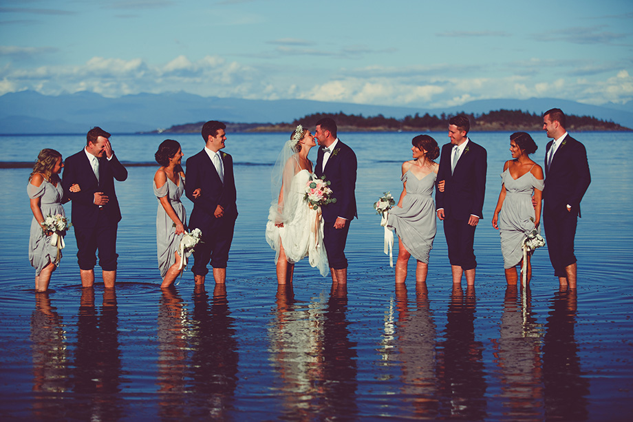 Bridal Party Portrait: 10-th Place by Lisa Paradis Lacey Peoples (Island Moments Photography)