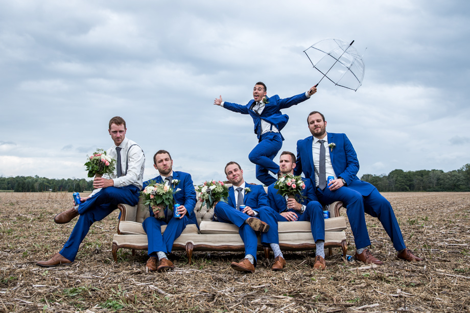Bridal Party Portrait: 11-th Place by Elfreda Dalby (Elfreda Dalby Photography)