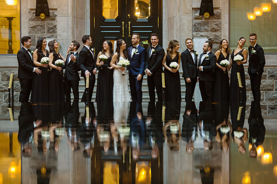 Bridal Party Portrait: 9-th Place by James Correia (James Paul Correia Photography)