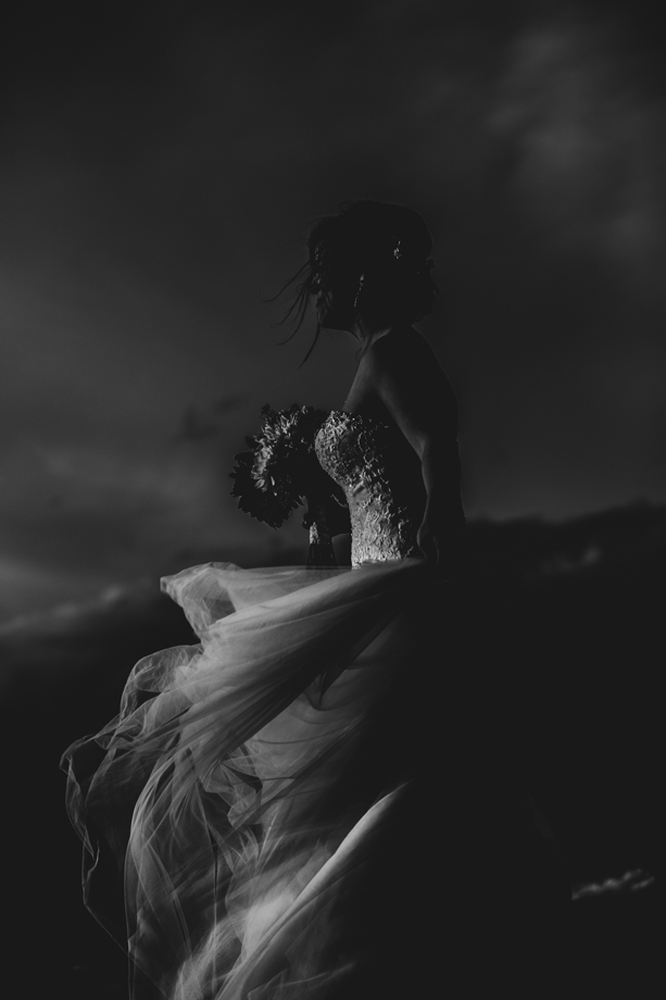 The Wedding Dress: 8-th Place by Lisa Paradis Lacey Peoples (Island Moments Photography)
