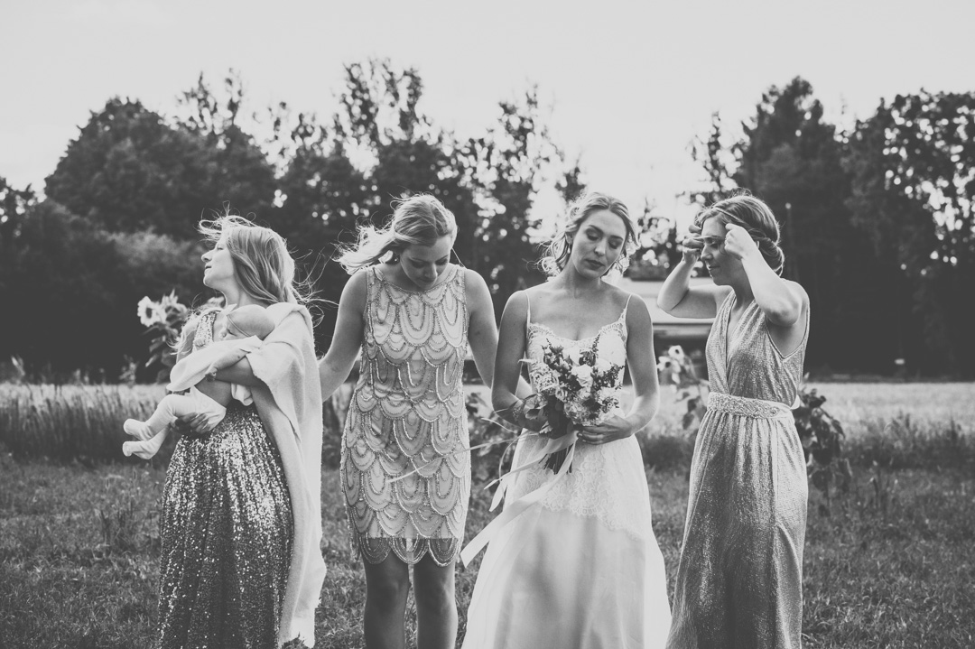 Bridal Party Portrait: 11-th Place by Frances Morency (Frances Morency Photography)