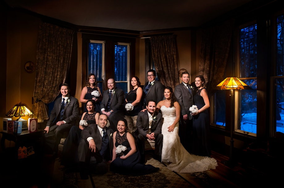 Bridal Party Portrait: 5-th Place by Genelle Giblett (Genelle Amber Studios)