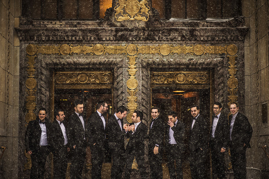 Bridal Party Portrait: 4-th Place by Rabih Madi (Madi Photography)