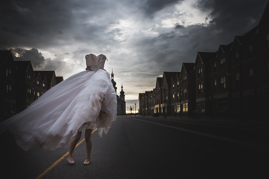 The Wedding Dress: 1-st Place by Andes Lo (Andes Lo Photographer)