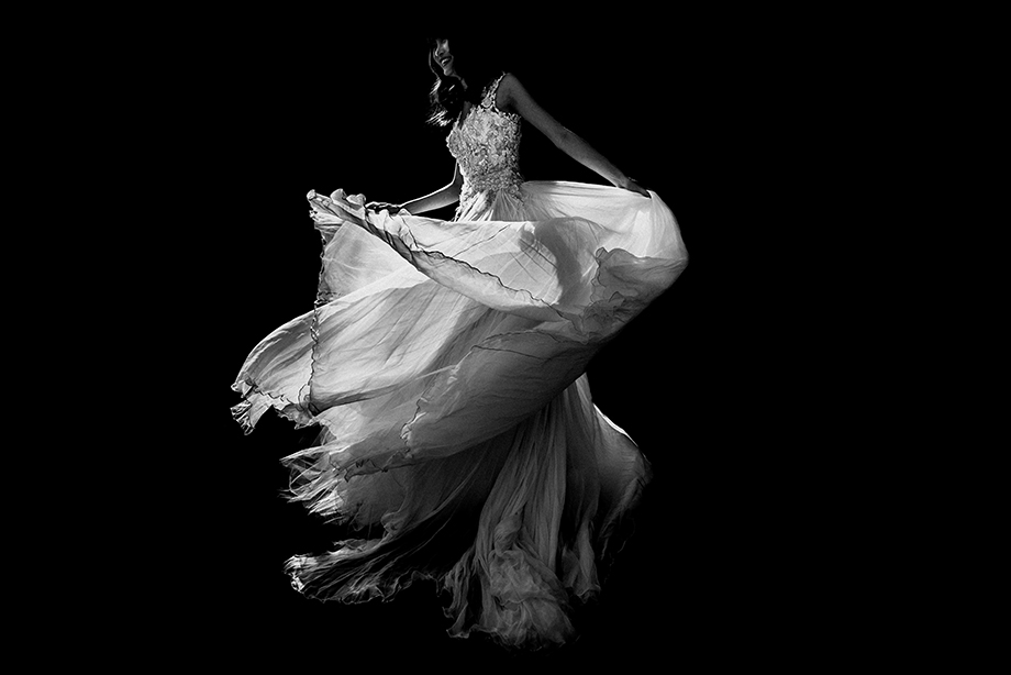 The Wedding Dress: 3-rd Place by cafa liu (cafaphoto)