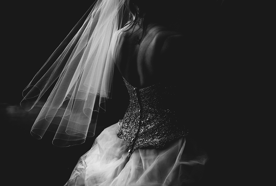 The Wedding Dress: 2-nd Place by Lisa Paradis Lacey Peoples (Island Moments Photography)