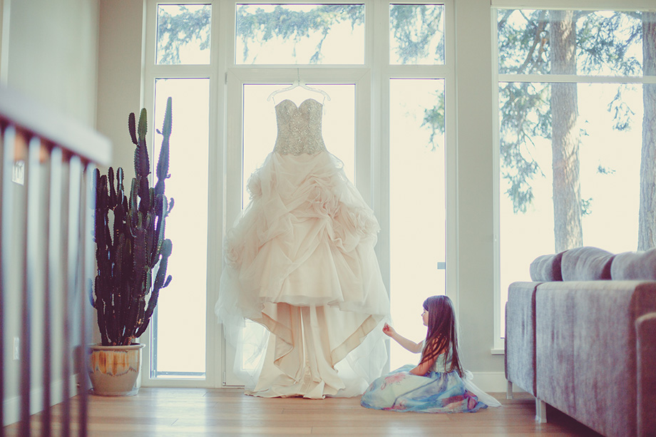 The Wedding Dress: 9-th Place by Lisa Paradis Lacey Peoples (Island Moments Photography)